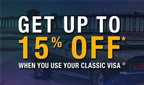 An extensive line of automotive parts is available at Classic Industries! Pay a visit as soon as possible and make sure you grab some of their hot deals! For instance, this coupon code here makes you eligible for up to 25% discount on orders of over $!