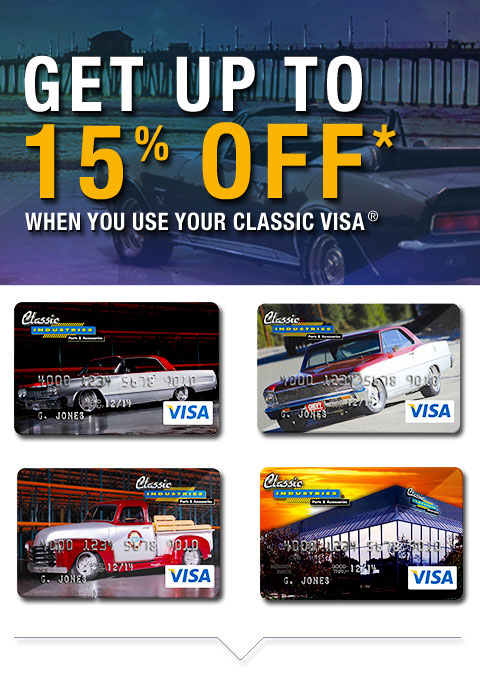 Classic Industries Platinum Visa® Rewards Card