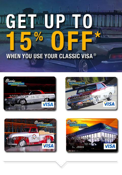 Classic Industries Platinum Visa® Rewards Card