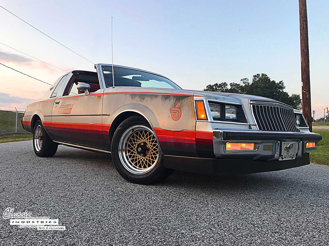 Fully Restored 1987 Buick Regal T-Type New Metal Sign