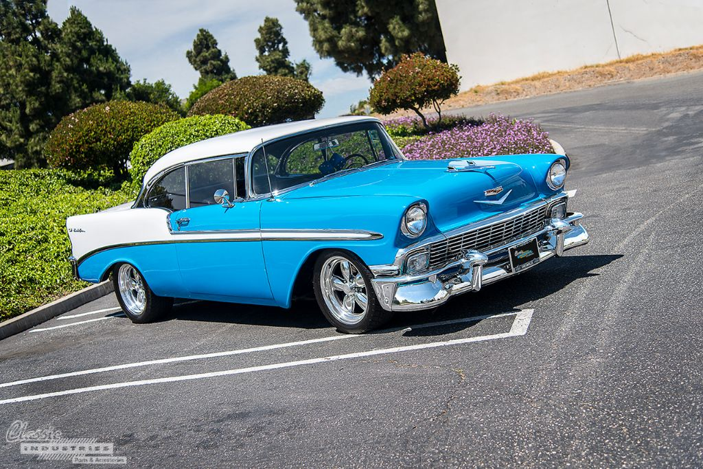 1956 Bel Air Restoration From The Ground Up