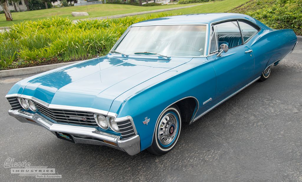 1967 Impala Ss Cool Blue Cruiser