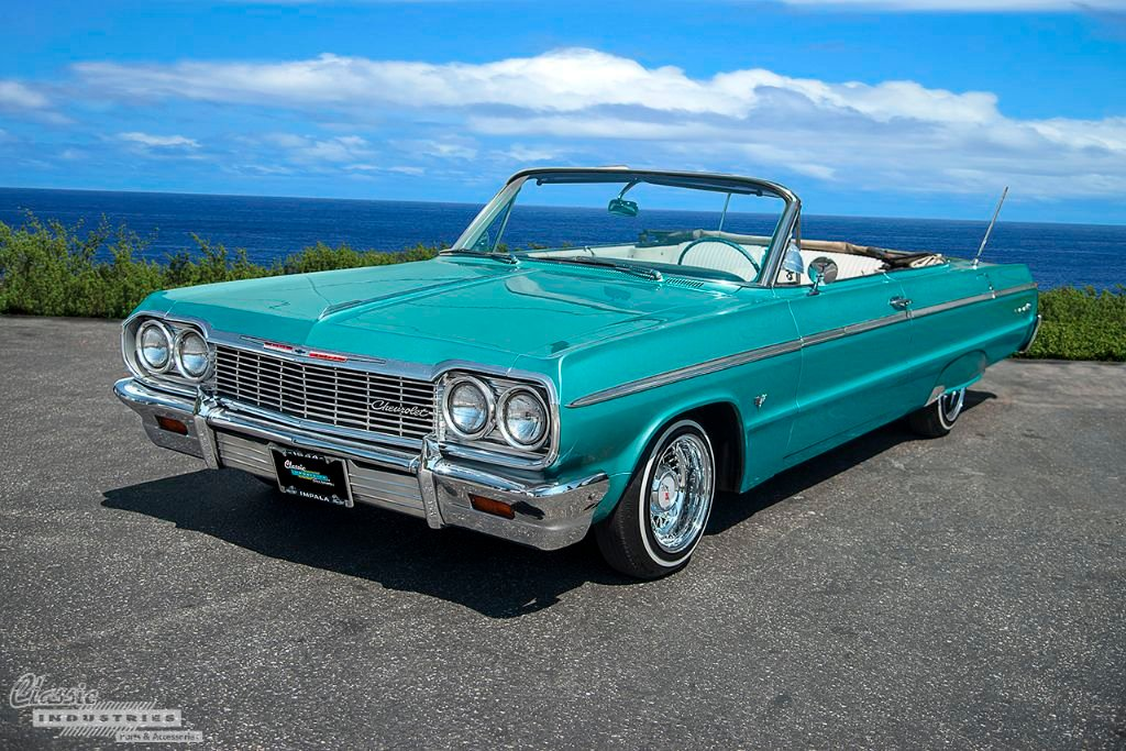1964 Impala Ss Convertible Aquamarine Drop Top