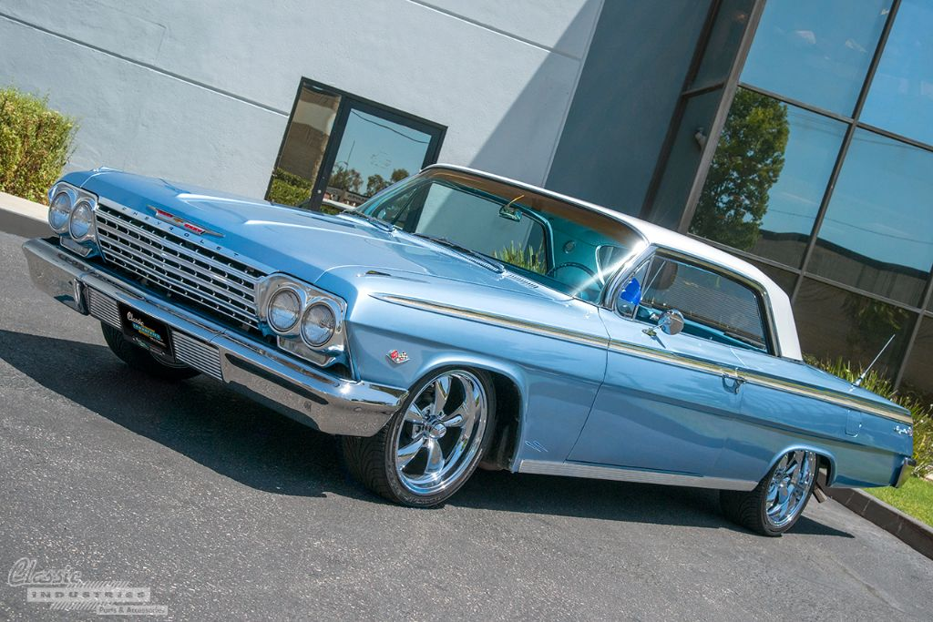 62 Impala Ss Cool Blue Cruiser