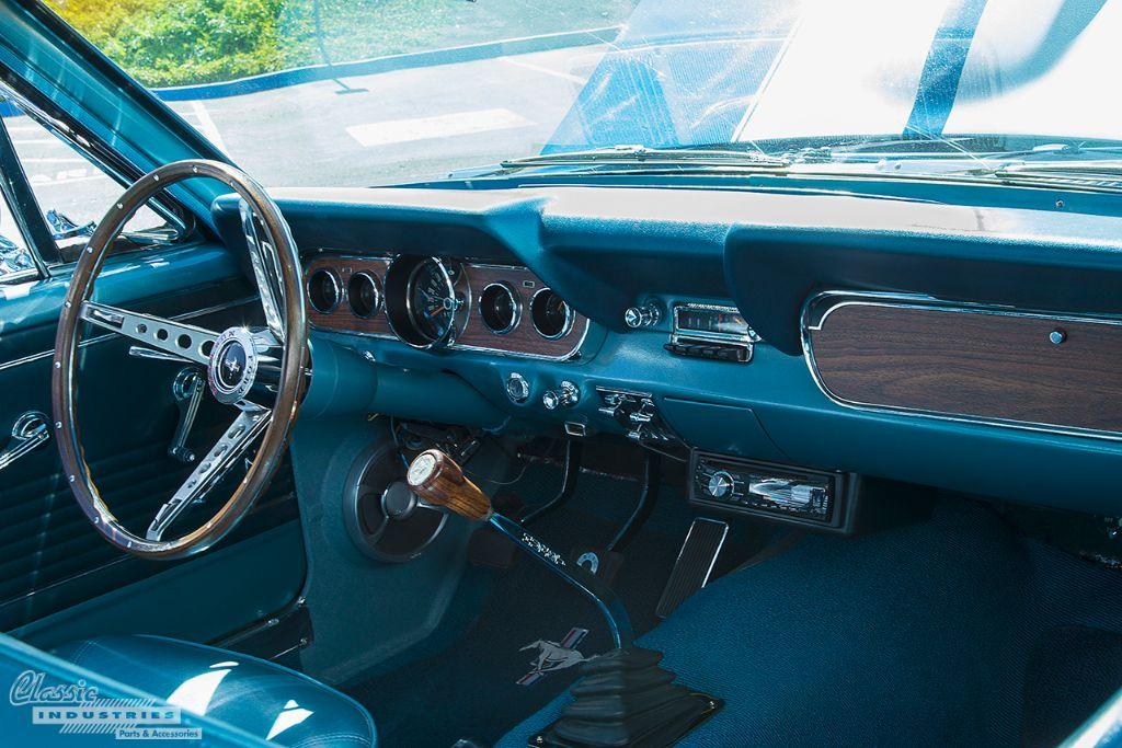 1966 Mustang Fastback Restored Barn Find