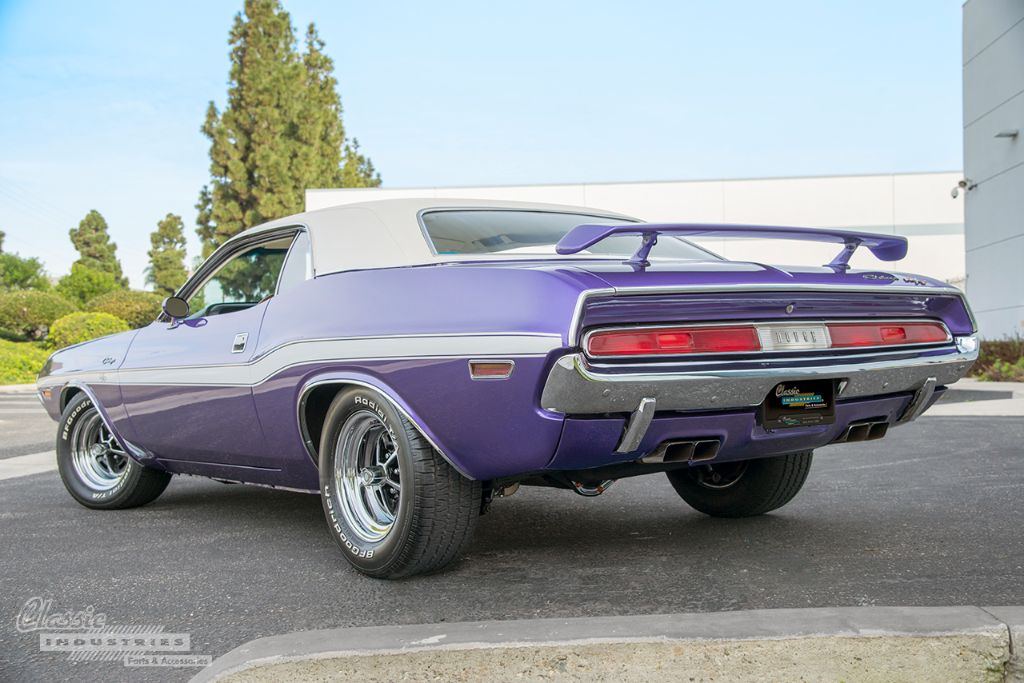 Huntington Beach Dodge >> 1970 Challenger R/T - Mopar Parts on Display