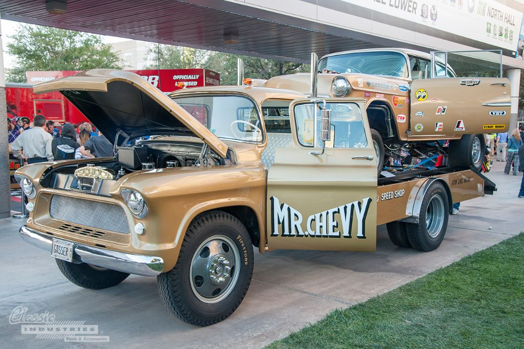 Top 5 Chevy Tri Fives Of Sema 2014