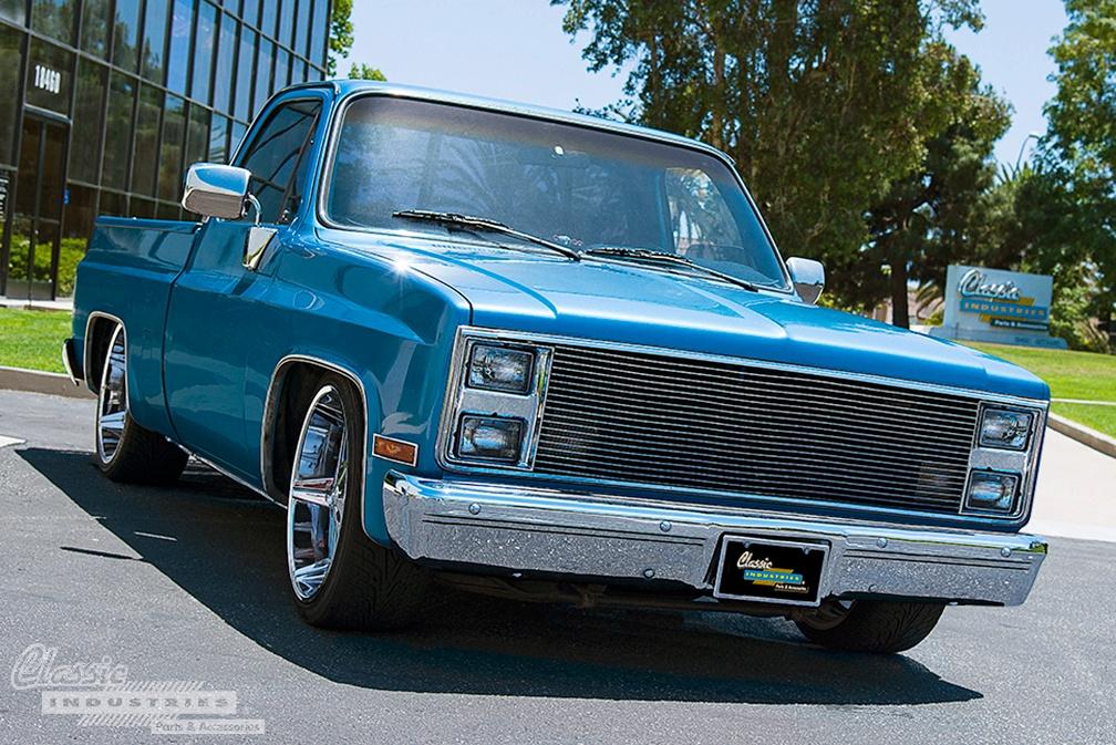 '85 Chevy C10 - Slick Square Body
